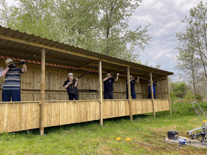 Laser Clay Tag Shooting at Kinross Activity Centre, Perthshire