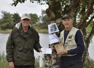 Fishing competitions at Kinross Trout Fishery, Scotland