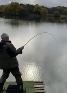 Tight Lines at Kinross Trout Fishery, Perthshire