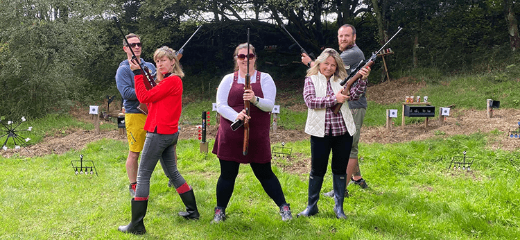 Corporate fun day at Kinross Activity Centre and Trout Fishery - Book Team Events - Perthshire
