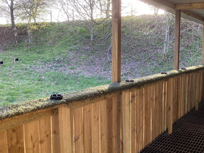 Air Rifle Shooting at Kinross Activity Centre in Perthshire, Scotland. Outdoor Fun - Things to do with the family